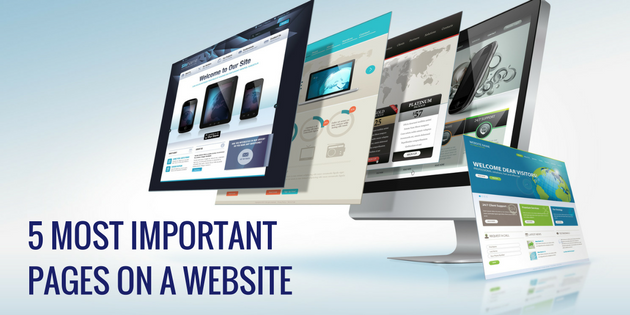 5 Most Important Pages on a Website